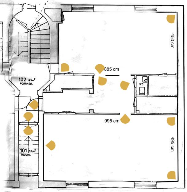 Galleria 3H+K floor plan